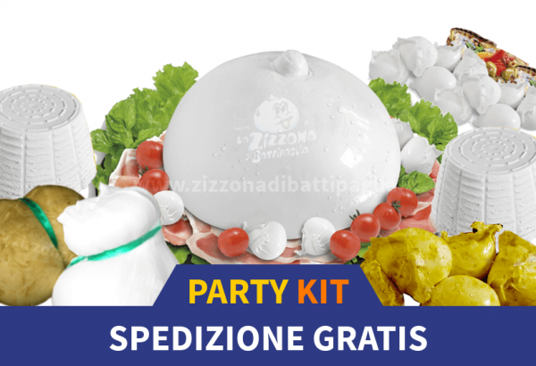La Zizzona Party Kit